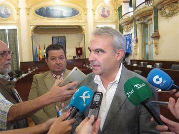 Francisco Javier Fragoso, alcalde de Badajoz