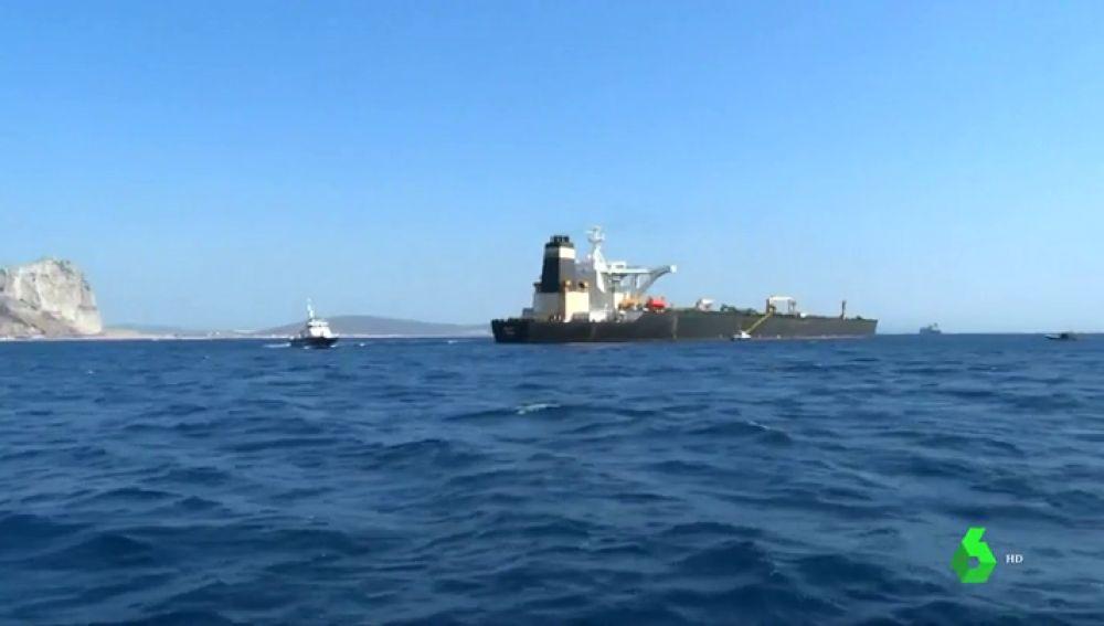 Gibraltar prorroga la detención del petrolero iraní durante 14 días