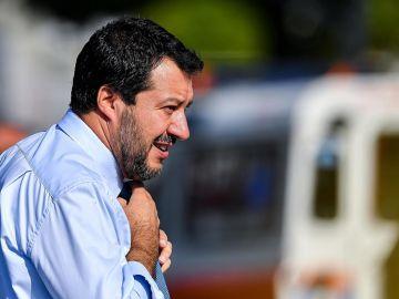 El ministro italiano del Interior, Matteo Salvini