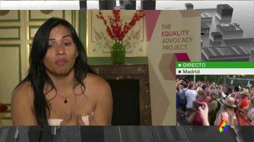 Majandra García, mujer trans que huyó de su país