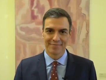 Vídeo de Pedro Sánchez a favor de la igualdad LGTBI