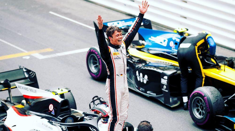 Nyck De Vries 2019 F2 Monaco