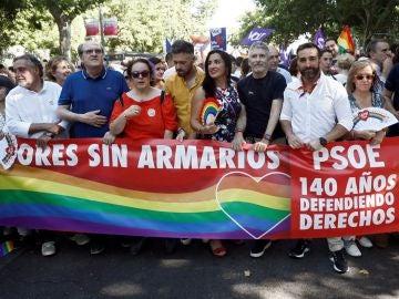 Ángel Gabilondo en el Orgullo LGTBI