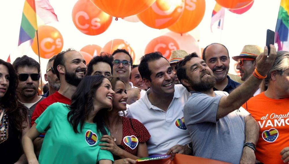 Ciudadanos, en la manifestación del Orgullo en Madrid