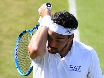 Fabio Fognini, en Wimbledon