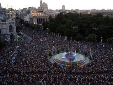Manifestación Orgullo LGTBI en Madrid