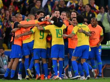Brasil, de celebración