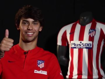 """Joao Félix y sus primeras declaraciones como jugador del Atlético: """"Había varios clubes pero el Atleti era el que más me gustaba"""""""