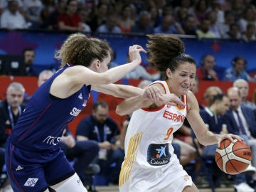 Laia Palau, en el partido ante Serbia