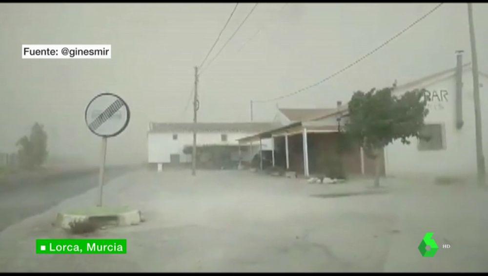 Reventones térmicos en Lora, Murcia