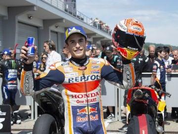 Márquez celebra un triunfo