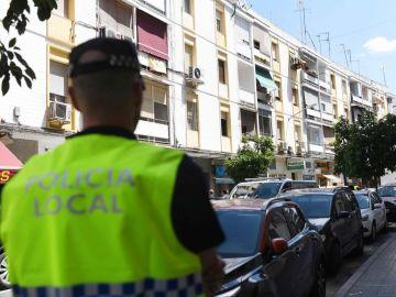 Imagen de archivo de un agente de Policía Local.