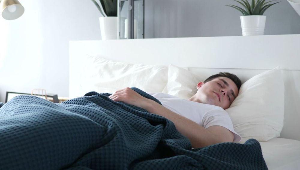 Chico durmiendo
