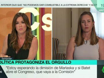 """Melisa Rodríguez (Cs), sobre el Orgullo LGTBI: """"Nos tiraron orines, copas, latas llenas y vacías, hubo ataques de ansiedad"""""""