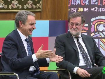 """Esta fue la inesperada cara de Rajoy cuando Zapatero le recordó que su familia tiene """"antecedentes republicanos"""""""