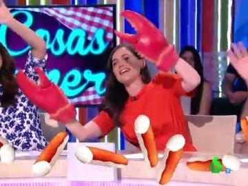 El hit de Boticaria García para desmontar los palitos de cangrejo