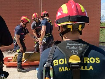 Cuerpo de bomberos de Marbella