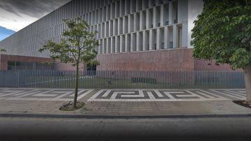 Fachada del Juzgado de lo Penal número 9 de Málaga.