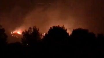 Incendio en Ceuta