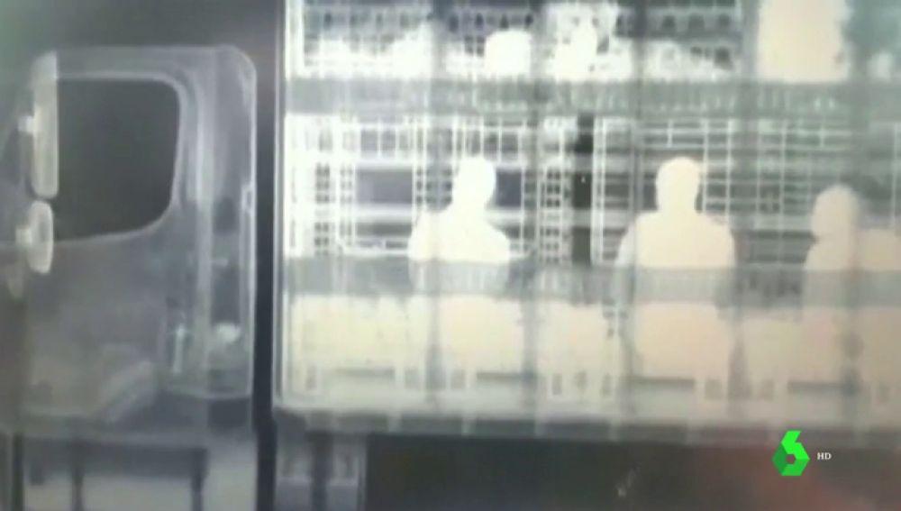 Detectan con rayos X a 51 migrantes hacinados dentro de un camión en México