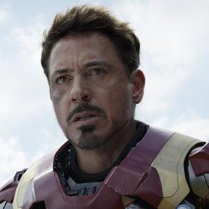 Fotografma de Robert Downey Jr., en su papel de Iron Man en la película 'Capitán América: Guerra Civil'