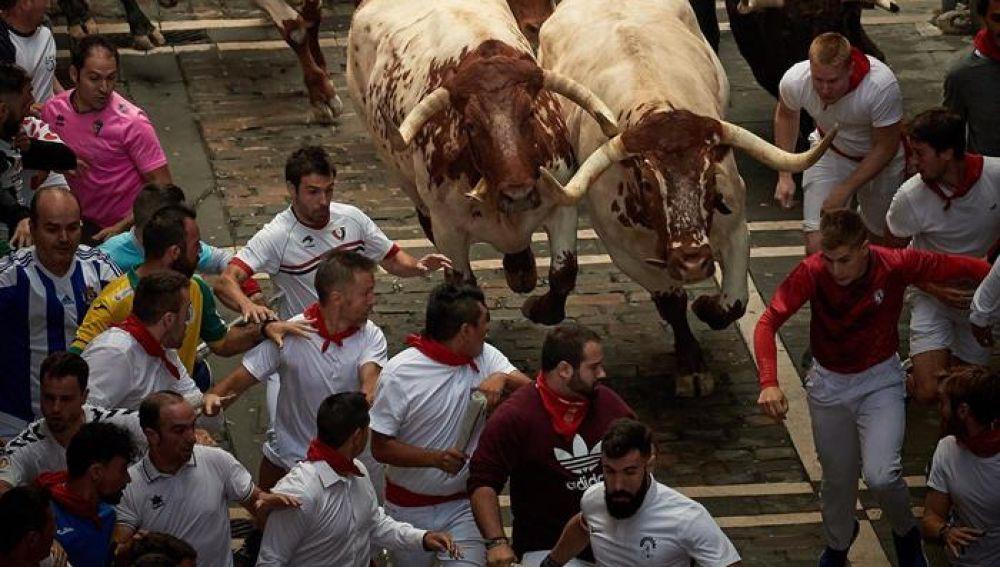 Segundo encierro de San Fermín