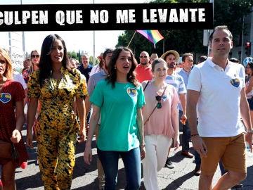 Ciudadanos en el Orgullo de Madrid