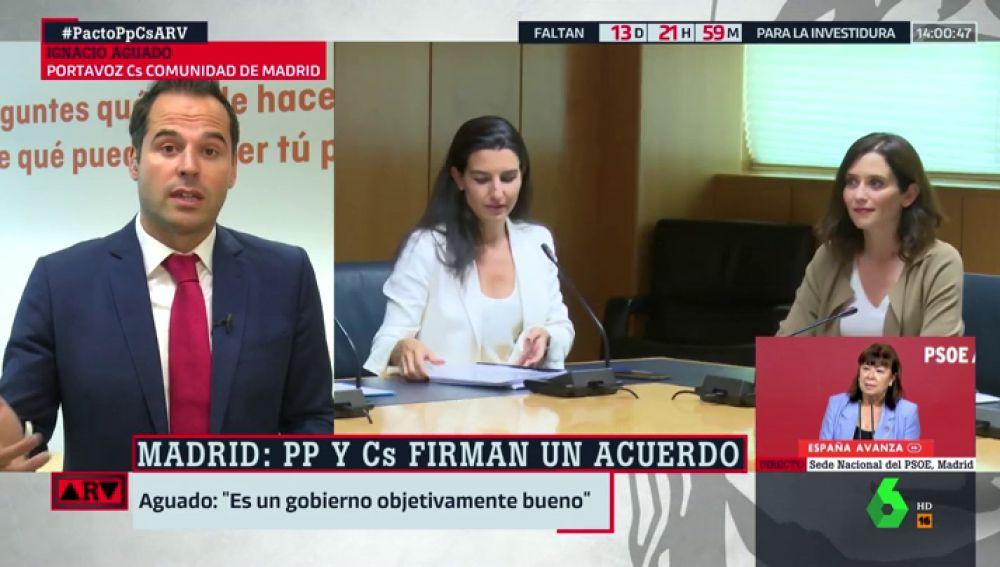 Ignacio Aguado en Al Rojo Vivo