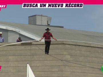 La nueva locura que prepara Nik Wallenda: 549 metros sobre la cuerda floja