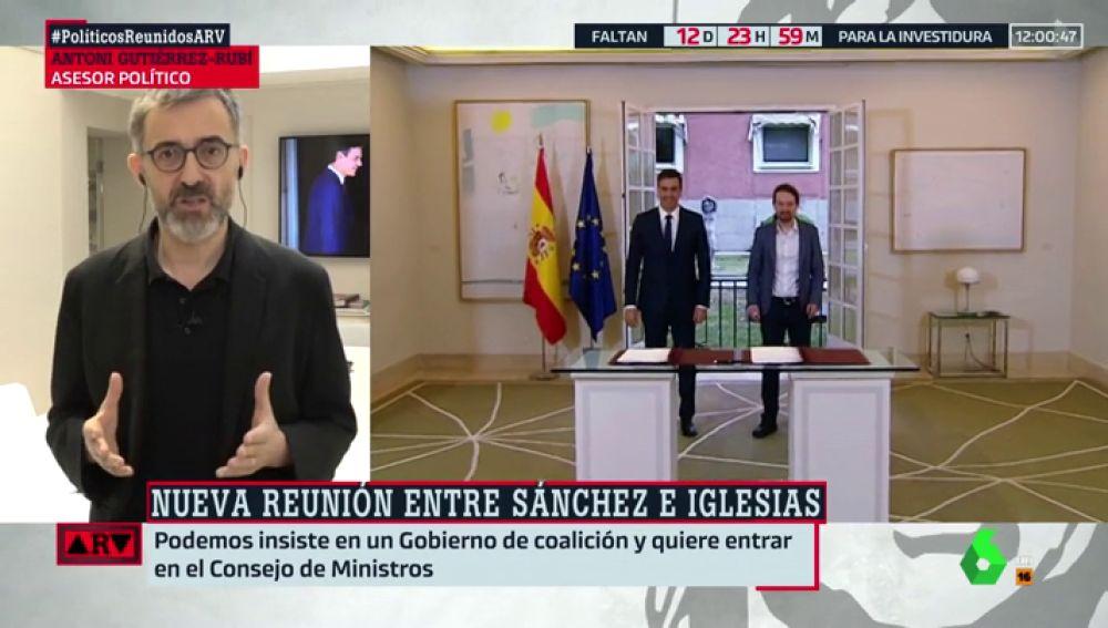 """Antoni Gutiérrez Rubí: """"Está fallando la confianza interpersonal entre Pedro Sánchez y Albert Rivera"""""""