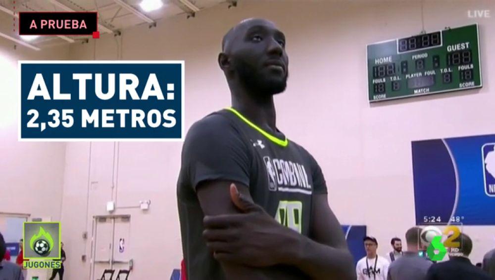 El gigante Tacko Fall, ante su última oportunidad de cumplir su sueño de llegar a la NBA