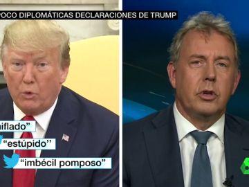 """Trump llama """"chiflado"""" al embajador británico en Washington"""