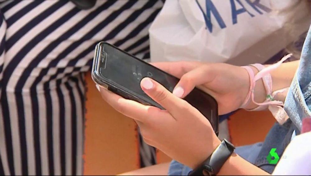 El uso del móvil en los más pequeños en vacaciones