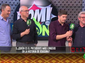'Los Lobos' en 'Jugones': ¿cuánto saben de deporte los ganadores del mayor premio de la historia de la televisión?