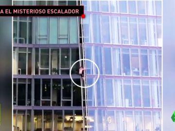 Desvelada la identidad del misterioso escalador que trepó sin cuerdas el edificio más alto de Reino Unido