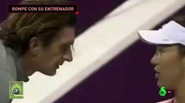 """Las broncas de Garbiñe Muguruza con su ya exentrenador: """""""""""
