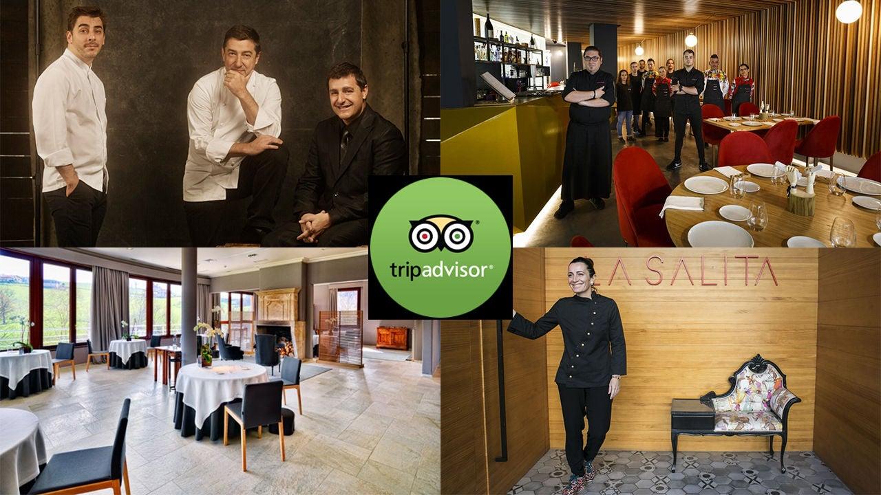 Cuatro de los mejores restaurantes de España