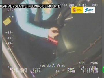 El uso del móvil al volante, la primera causa de accidente por distracción