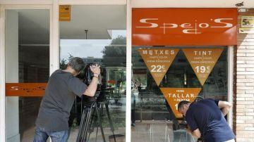 Los Mossos buscan al autor del homicidio de un hombre en peluquería de Sarrià