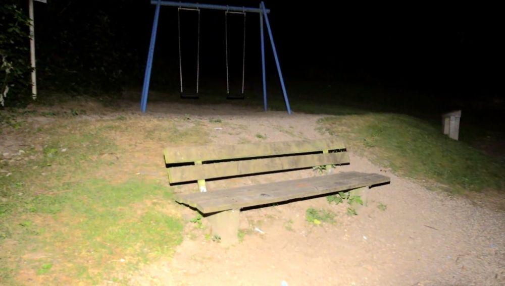 El parque en el que se produjo la agresión sexual en grupo en Mülheim, Alemania