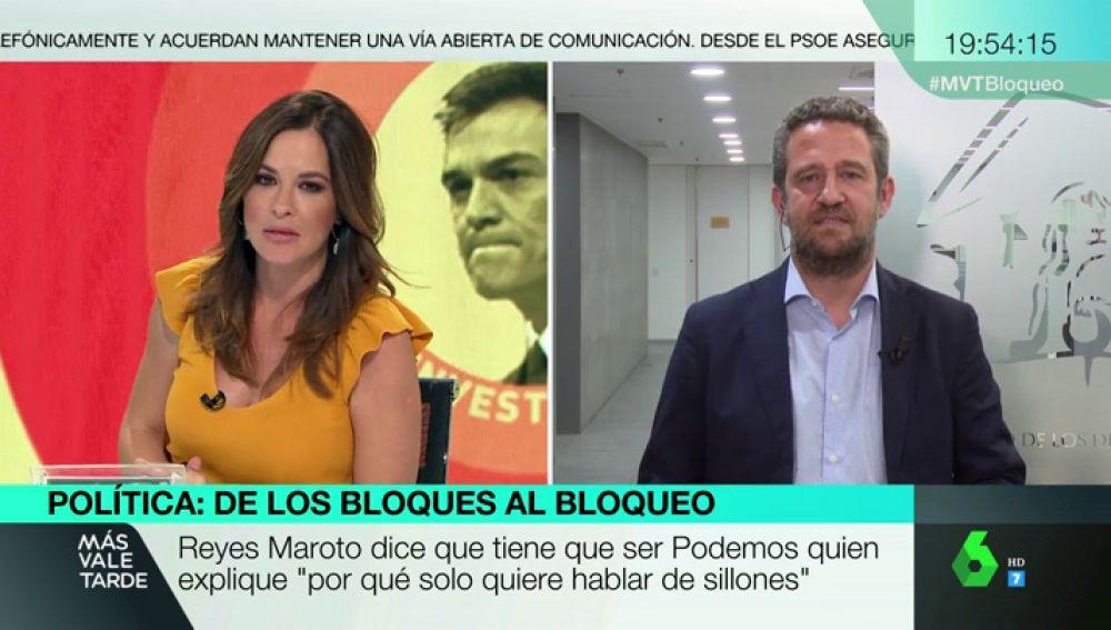 """Jaime de Olano (PP): """"Nos gustaría conocer la carta que nos podrían envíar los 15 diputados del PSOE que votaron 'no' a la investidura de Rajoy"""""""