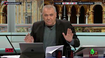 """Ferreras responde al presentador de San Fermín por sus palabras sobre el caso de 'La Manada': """"Violar no es un accidente"""""""