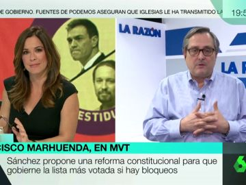 """Francisco Marhuenda: """"Pedro Sánchez está a ver quién le aguanta fija la mirada"""""""
