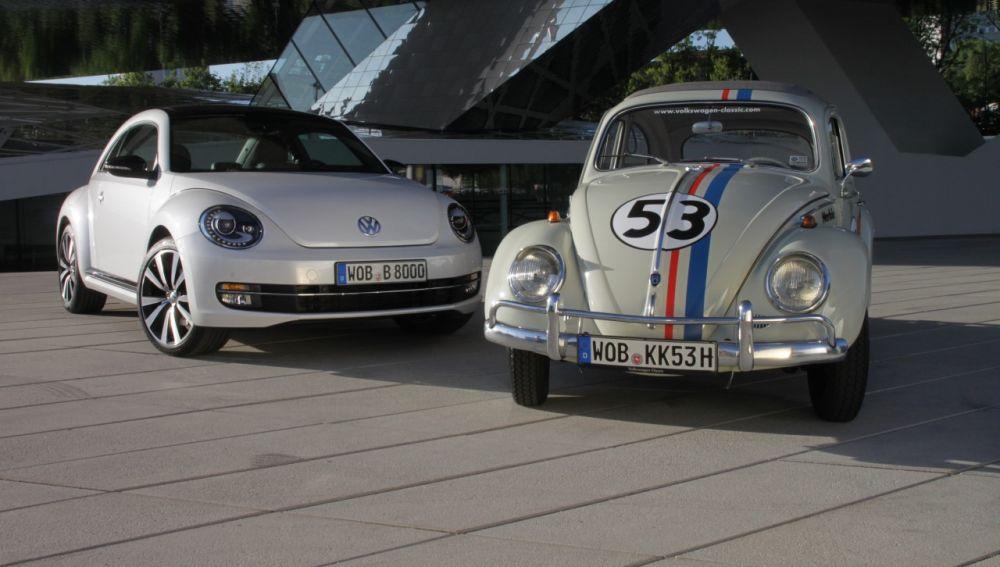 El Volkswagen Beetle comparte protagonismo con su nieto