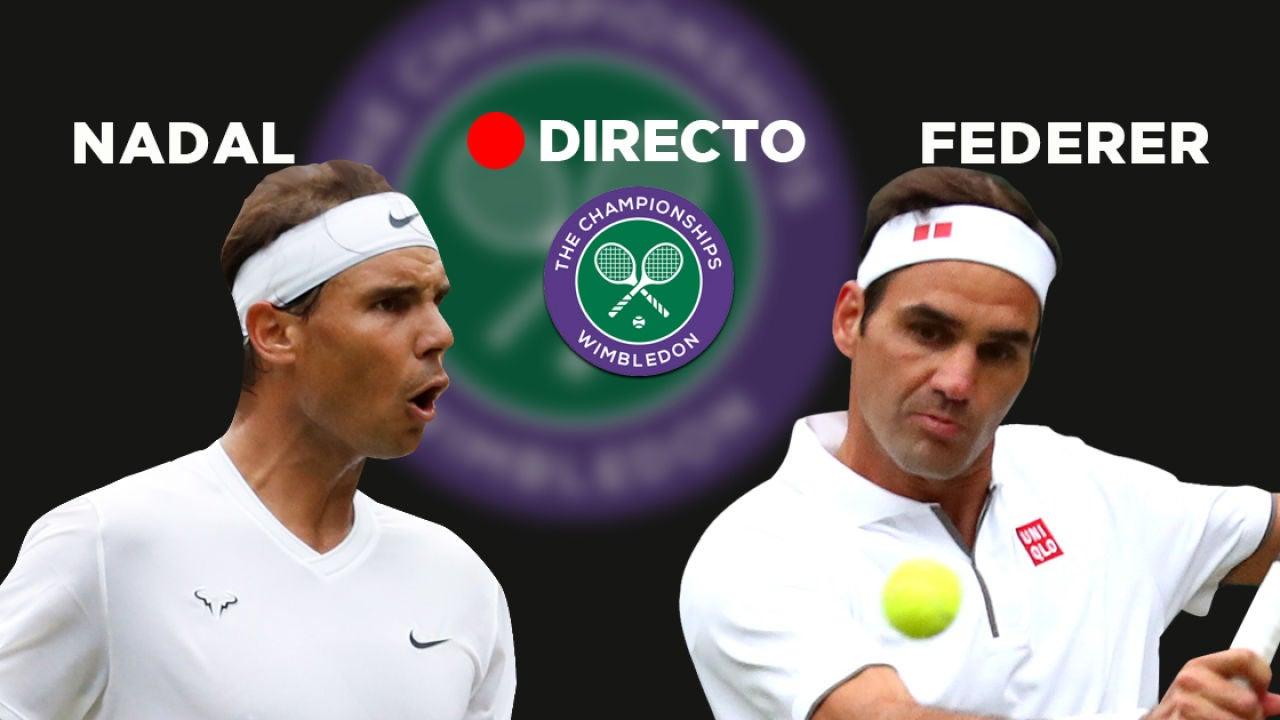 Nadal-Federer, semifinales de Wimbledon 2019