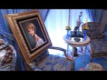 Jesús Gil y su cara más distendida: así enseñaba su casa de Marbella