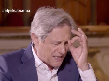 Josema Yuste, como 'El Jefe infiltrado'