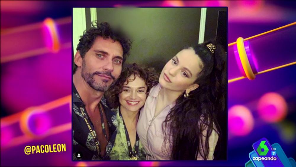De Cristina Pedroche a Paco León: así lo dieron todo los famosos en el concierto de Rosalía en el Mad Cool 2019