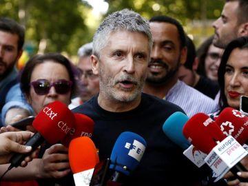 El ministro del Interior en funciones, Fernando Grande Marlaska