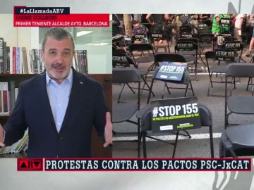 """Jaume Collboni, tras las críticas por los pactos del PSC: """"No es sano convivir con un tribunal inquisitorial del independentismo"""""""